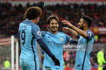 Sunderland 0-2 Manchester City: Sané andAgüerogoals keep Sunderland rock bottom