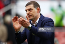 """West Ham boss Slaven Bilić """"pleased"""" with performance at Stoke but insists Hammers aren't yet safe from relegation"""