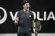 ATP Marseille: Qualifier Norbert Gombos defeats Nicolas Mahut on a third set tiebreaker