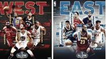 Quintetos titulares para All-Star, Westbrook se queda fuera