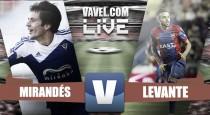 Resultado Mirandés vs Levante en vivo online en Segunda División 2016