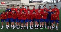 Seis juveniles convocados con la sub-17
