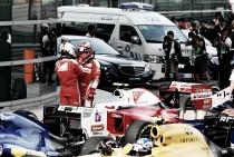 """Sebastian Vettel: """"Kvyat llegó con mucho velocidad y me ha sorprendido"""""""