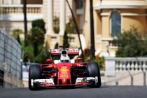 Fp3, La roulette di Montecarlo si ferma sul rosso, Vettel davanti