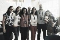 El equipo español femenino en la Olimpiada de Bakú