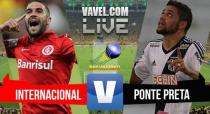 Ponte Preta x Internacional no Brasileirão (2-2)