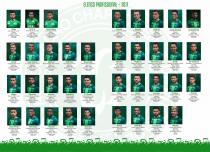 Em reestruturação, Chapecoense divulga elenco profissional para temporada 2017