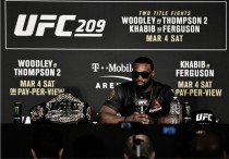 """Woodley sobre revanche com Thompson: """"Às vezes não é a luta mais empolgante da Terra"""""""