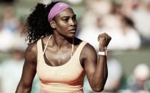 Brillante debut de Serena Williams en Roland Garros