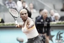 Serena Williams se ve obligada a remontar