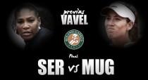Serena Williams - Garbiñe Muguruza: hegemonía o derrocamiento