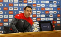 Sergio González, 50 partidos como técnico del Espanyol en liga