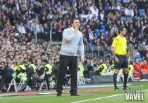 """Sergio González: """"No me condiciona el derbi para hacer la alineación"""""""