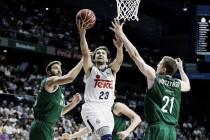 La máquina ofensiva del Madrid derriba al Unicaja para abrir la Liga