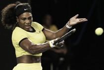 Serena Williams continua arrollando en Australia