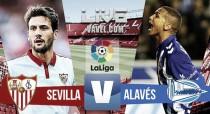 Resultado Sevilla vs Deportivo Alavés en vivo online en La Liga 2016 (0-0)