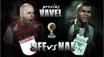 Previa Santa Fe - Atlético Nacional: 'Primer round' entre campeones continentales
