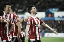 Swansea City 0-1 Southampton: Shane Long's header brings Swans back down to earth