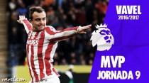 Xherdan Shaqiri, MVP de la séptima jornada de Premier League
