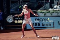 María Sharapova regresó al tenis con victoria