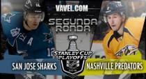 San Jose Sharks - Nashville Predators: dos sorpresas cara a cara