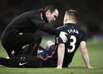 Louis van Gaal delighted with Luke Shaw's weight loss