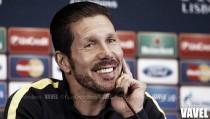 """Simeone: """"Debemos poner en juego la humildad y el esfuerzo porque son las marcas del equipo"""""""