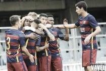 FC Barcelona B - UE Olot en directo online en Segunda B 2016 (1-0)