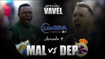 Málaga CF - Deportivo de La Coruña: el camino hacia los objetivos