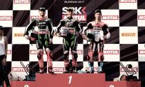 Doblete en Tailandia para Rea tras una segunda carrera en dos partes