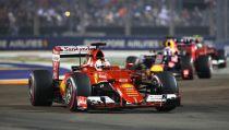GP Singapour : Vettel dominateur, Hamilton abandonne