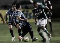 Grêmio busca reabilitação diante do líder Palmeiras na Arena