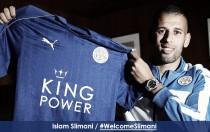 Slimani, fichaje histórico del Leicester