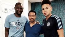 Selección Peruana: Nolberto Solano se reúne en Nueva York con Alexander Callens y Patrick Vieira
