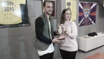 Roberto Soldado premiado con la 'Bota Groga'