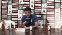 """Mariano Soso: """"No pudimos hacernos fuertes en casa ni ante Peñarol ni ante Atlético Nacional"""""""
