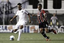 Santos e São Paulo empatam sem gols em noite dos goleiros na Vila Belmiro