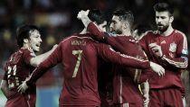 Qualificazioni Europei 2015, la Spagna piega l'Ucraina, primo gol di Morata
