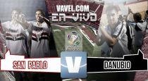 São Paulovs Danubio en vivo online (4-0)