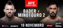 Resultado Bader x Minotouro 2 na luta UFC São Paulo