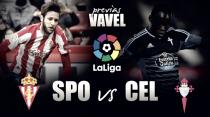 Previa Sporting de Gijón - Celta de Vigo: una visita complicada