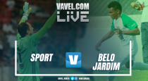 Partida Sport x Belo Jardim no Campeonato Pernambucano 2017