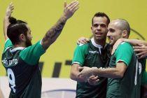 UEFA Futsal Cup: Sporting vence e está «final four»