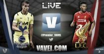 Tottenham Hotspur 0-3 Liverpool Live Stream and Football Scores and Result of EPL 2014