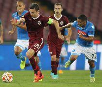 Sparta de Praga - Napoli: el Stadion Letná vive la lucha por el primer puesto del Grupo