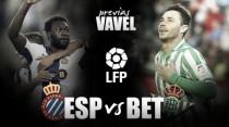 Espanyol - Betis: otro paso hacia la salvación