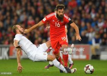 Eagles Joe Ledley and Wayne Hennessey feature for Wales in World Cup qualifier