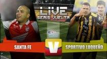 Resultado Santa Fe vs Sportivo Luqueño en Copa Sudamericana (0-0)