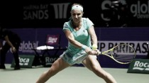 Kuznetsova logra una victoria muy trabajada ante la vigente campeona