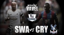 Swansea - Crystal Palace: tendencias opuestas